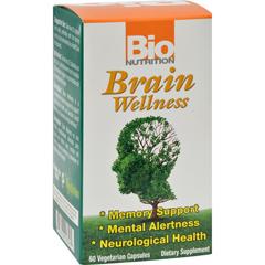 HGR1500958 - Bio NutritionBrain Wellness - 60 Vegetarian Capsules