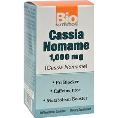 HGR1500974 - Bio NutritionCassia Nomame - 1000 mg - 60 Vegetarian Capsules