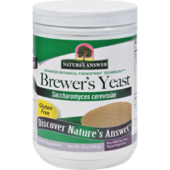 HGR1506203 - Nature's AnswerBrewers Yeast - Gluten Free - 16 oz
