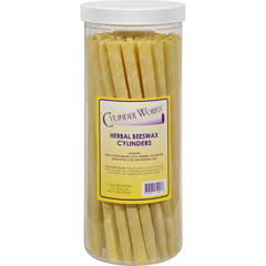 HGR1506500 - Cylinder WorksCylinders - Herbal Beeswax - 50 ct