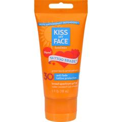HGR1506666 - Kiss My FaceSunscreen - Tattoo Shade SPF 30 - 3 oz