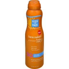 HGR1506971 - Kiss My FaceBare Naked Body Mist - Air Powered SPF 30 - 6 oz