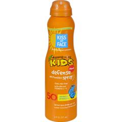 HGR1507003 - Kiss My FaceKids Defense Spray - Any Angle Air Power SPF 50 - 6 oz