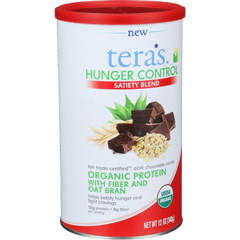 HGR1508357 - Tera's WheyHunger Control - Sateity Blend - Fair Trade Certified Dark Chocolate Cocoa - 12 oz