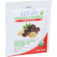 HGR1508555 - Tera's WheyHunger Control - Satiety Blend - Fair Trade Certified Dark Chocolate - 12/ 1 oz. Packets