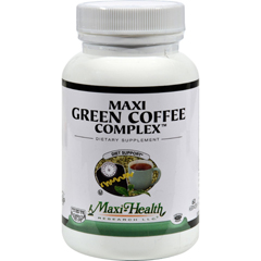HGR1510858 - Maxi Health Kosher VitaminsMaxi Green Coffee Complex - 60 Capsules
