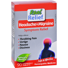 HGR1511740 - Homeolab USAHeadache and Migrane Symptom Relief - 90 Tablets