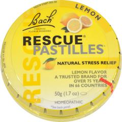 HGR1512086 - BachRescue Remedy Pastilles - Lemon - 50 grm - Case of 12