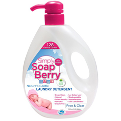 HGR1512888 - Simply SoapBerryBaby Laundry Detergent - Free & Clear - 32 oz. - 128 Loads