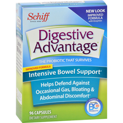 HGR1512953 - Schiff VitaminsDigestive Advantage - Intensive Bowel Support - 96 Capsules