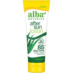 HGR1517143 - Alba BotanicaAfter Sun Lotion - 85% Aloe - 8 oz