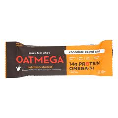HGR1517499 - Oatmegabar - Protein Bar - Dark Chocolate Peanut - 1.8 oz.. Bars - Case of 12