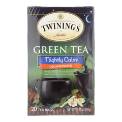 HGR1518828 - Twinings Tea - Green Tea - Nightly Calm - Case of 6 - 20 Bags