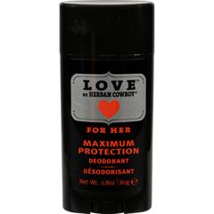 HGR1518984 - Herban CowboyDeodorant - Love Maximum Protection - 2.8 oz