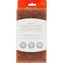 HGR1520170 - Full Circle HomeScour Pads - Neat Nut Walnut Shell - 3 ct - Case of 6