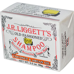 HGR1520683 - J.R. Liggett'sOld Fashioned Bar Shampoo Counter Display - Virgin Coconut and Argan Oil - 3.5 oz - Case of 12