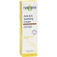 HGR1521632 - NatraliaAnti Itch Soothing Cream - Oatmeal and Menthol - 3 oz