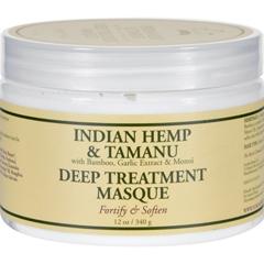 HGR1522945 - Nubian HeritageHair Masque - Indian Hemp Tamanu - 12 oz
