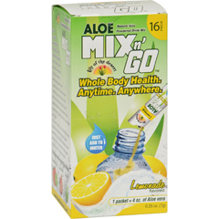 HGR1523752 - Lily Of The DesertLily of the Desert Aloe Drink Mix - Mix N Go Lemonade - 16 Packets