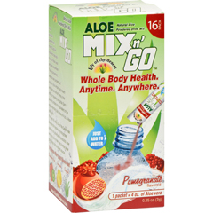 HGR1523786 - Lily Of The DesertLily of the Desert Aloe Drink Mix - Mix N Go Pomegranate - 16 Packets