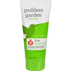 HGR1524032 - Goddess GardenOrganic Sunscreen - Kids Natural SPF 30 Lotion - 6 oz