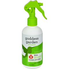 HGR1524040 - Goddess GardenOrganic Sunscreen - Kids Natural SPF 30 Trigger Spray - 8 oz