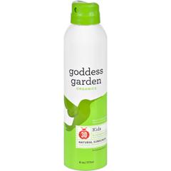 HGR1524057 - Goddess GardenOrganic Sunscreen - Sunny Kids Natural SPF 30 Continuous Spray - 6 oz
