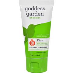 HGR1524081 - Goddess GardenOrganic Sunscreen Counter Display - Kids - 1 oz - Case of 20
