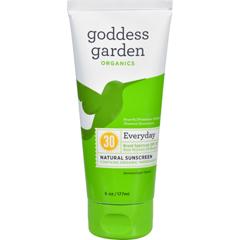 HGR1524123 - Goddess GardenSunscreen - Organic - Natural - Sunny Body - SPF 30 - 6 oz