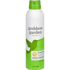 HGR1524149 - Goddess GardenOrganic Sunscreen - Sunny Body Natural SPF 30 Continuous Spray - 6 oz
