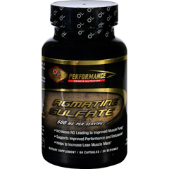 HGR1525054 - Olympian LabsAgmatine Sulfate - Performance Sports Nutrition - 500 mg - 60 Capsules
