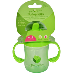HGR1528967 - Green SproutsSippy Cup - Flip Top Green - 1 ct