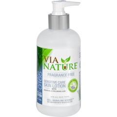 HGR1533751 - Via NatureLotion - Sensitive Care - Fragrance Free - 8 fl oz