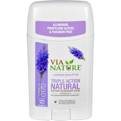 HGR1533785 - Via NatureDeodorant - Stick - Lavender Eucalyptus - 2.25 oz