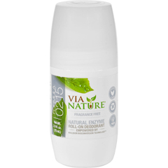 HGR1533801 - Via NatureDeodorant - Roll On - Frangrance Free - 2.5 fl oz