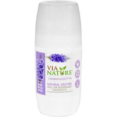 HGR1533827 - Via NatureDeodorant - Roll On - Lavender Eucalyptus - 2.5 fl oz