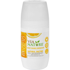 HGR1533835 - Via NatureDeodorant - Roll On - Sweet Orange Lemongrass - 2.5 fl oz