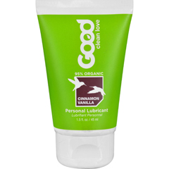 HGR1534114 - Good Clean LovePersonal Lubricant - Organic - Cinnamon Vanilla - 1.5 oz