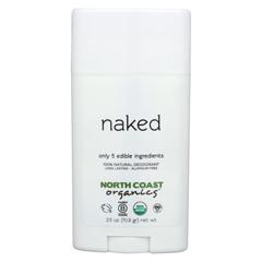 HGR1534924 - North Coast Organics - Deodorant - Naked Sensitive Skin - 1 Each - 2.5 oz..