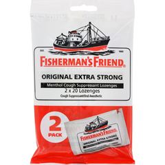 HGR1536333 - Fisherman's FriendLozenges - Original Extra Strong - Dsp - 40 ct - 1 Case