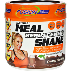 HGR1536705 - Fusion Diet SystemsMeal Replacement Shake - Creamy Chocolate - 12 oz
