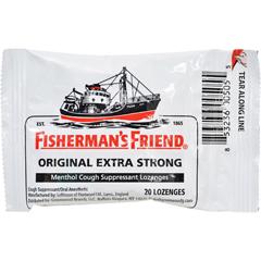 HGR1540020 - Fisherman's FriendLozenges - Original Extra Strong - Dsp - 20 ct - 1 Case