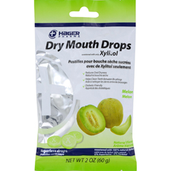 HGR1541317 - Hager PharmaDry Mouth Drops - Melon - 2 oz