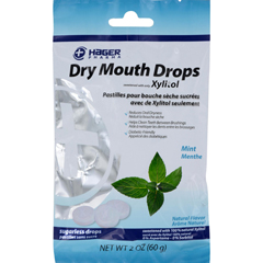 HGR1541408 - Hager Pharma - Dry Mouth Drops - Mint - 2 oz