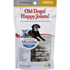 HGR1543503 - Ark NaturalsOld Dog Happy Joints - Gray Muzzle - 90 chews