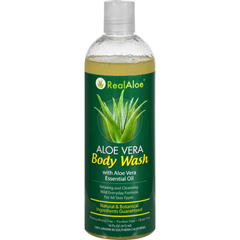 HGR1543867 - Real AloeBody Wash - Aloe Vera - 16 fl oz