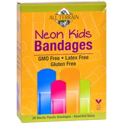 HGR1545441 - All TerrainBandages - Neon Kids - Assorted - 20 Count