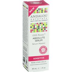 HGR1548346 - Andalou Naturals - Absolute Serum - 1000 Roses - 1 oz