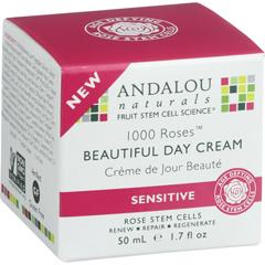 HGR1548361 - Andalou NaturalsBeautiful Day Cream - 1000 Roses - 1.7 oz