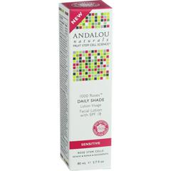HGR1548411 - Andalou NaturalsFacial Lotion - 1000 Roses - Daily Shade SPF 18 - 2.7 oz